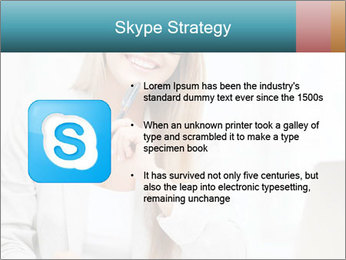 Businesswoman With Paperwork PowerPoint Template - Slide 8