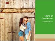 Passionate Love Couple PowerPoint Templates