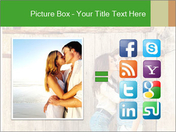 Passionate Love Couple PowerPoint Template - Slide 21