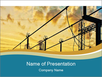Electrical Engineering PowerPoint Templates - Slide 1
