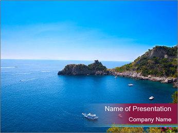 Lovely Bay PowerPoint Template - Slide 1