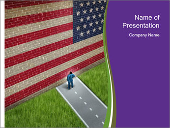 American Holiday PowerPoint Template