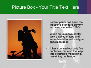 Full Moon Kiss PowerPoint Templates - Slide 13