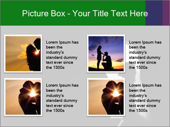 Full Moon Kiss PowerPoint Templates - Slide 14