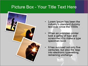 Full Moon Kiss PowerPoint Templates - Slide 17