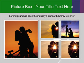 Full Moon Kiss PowerPoint Templates - Slide 19
