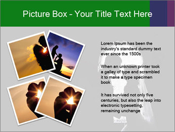 Full Moon Kiss PowerPoint Templates - Slide 23