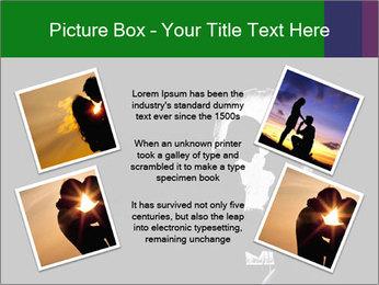 Full Moon Kiss PowerPoint Templates - Slide 24