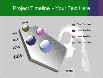 Full Moon Kiss PowerPoint Templates - Slide 26