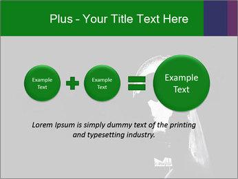 Full Moon Kiss PowerPoint Templates - Slide 75