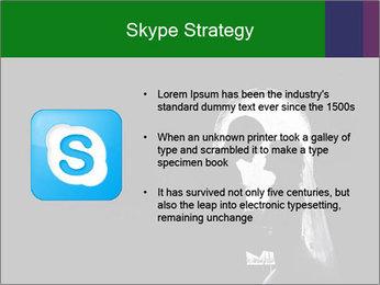 Full Moon Kiss PowerPoint Templates - Slide 8