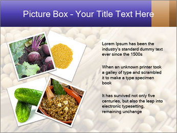 Raw Soyabeans PowerPoint Templates - Slide 23