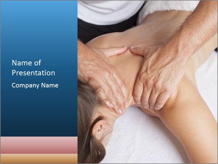 Shoulder Massage PowerPoint Templates