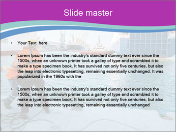 Gantry Crane PowerPoint Template - Slide 2
