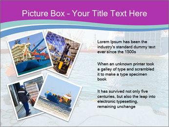 Gantry Crane PowerPoint Template - Slide 23