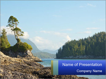 Beautiful Coastline PowerPoint Templates - Slide 1