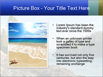 Beautiful Coastline PowerPoint Templates - Slide 13