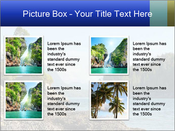 Beautiful Coastline PowerPoint Templates - Slide 14