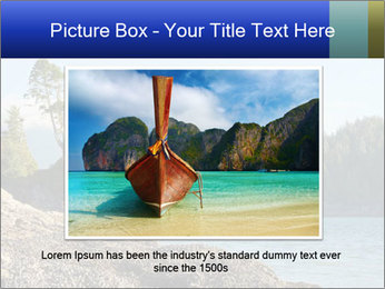 Beautiful Coastline PowerPoint Templates - Slide 15