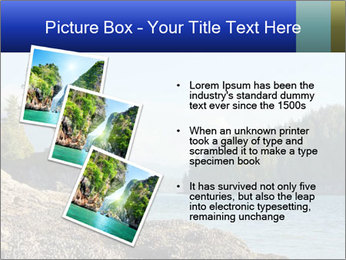 Beautiful Coastline PowerPoint Templates - Slide 17