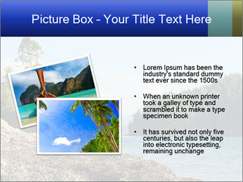 Beautiful Coastline PowerPoint Templates - Slide 20