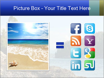 Beautiful Coastline PowerPoint Templates - Slide 21