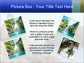 Beautiful Coastline PowerPoint Templates - Slide 24