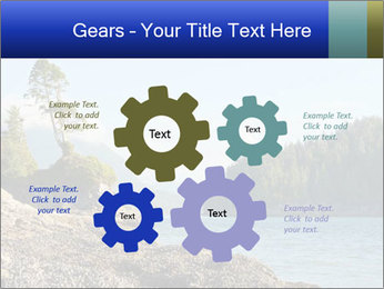 Beautiful Coastline PowerPoint Template - Slide 47
