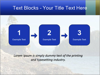 Beautiful Coastline PowerPoint Template - Slide 71
