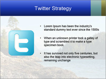 Beautiful Coastline PowerPoint Template - Slide 9