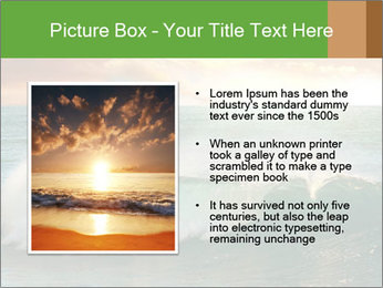 Sea During Dawn PowerPoint Template - Slide 13