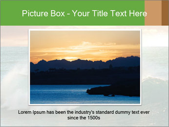 Sea During Dawn PowerPoint Templates - Slide 15