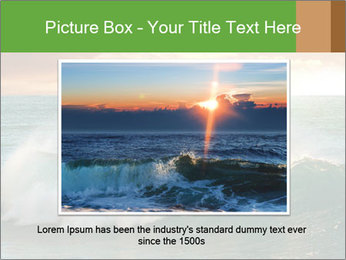 Sea During Dawn PowerPoint Templates - Slide 16