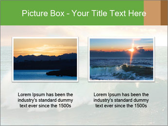Sea During Dawn PowerPoint Template - Slide 18