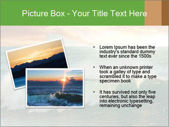 Sea During Dawn PowerPoint Template - Slide 20