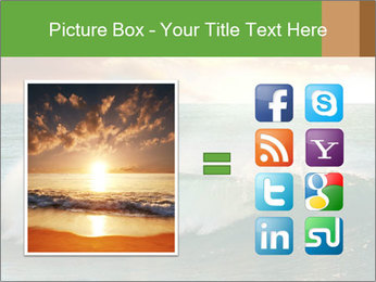 Sea During Dawn PowerPoint Templates - Slide 21