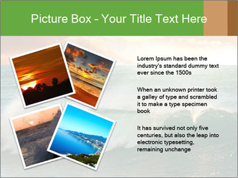 Sea During Dawn PowerPoint Template - Slide 23