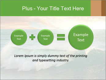 Sea During Dawn PowerPoint Templates - Slide 75