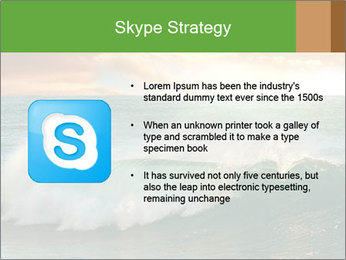 Sea During Dawn PowerPoint Template - Slide 8