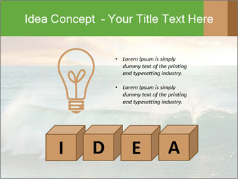 Sea During Dawn PowerPoint Template - Slide 80