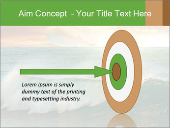 Sea During Dawn PowerPoint Template - Slide 83