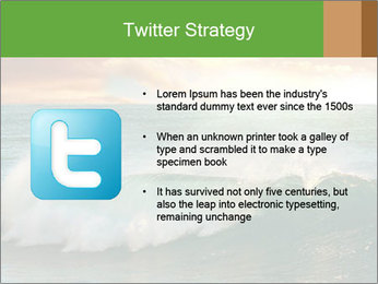 Sea During Dawn PowerPoint Template - Slide 9