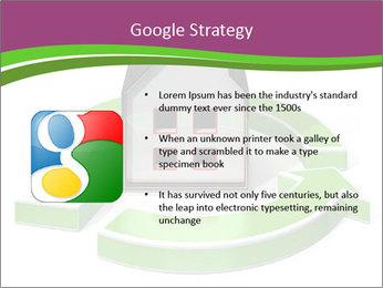 Green House Model PowerPoint Templates - Slide 10