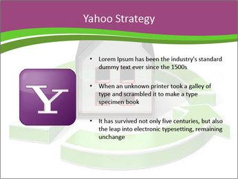 Green House Model PowerPoint Templates - Slide 11