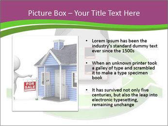 Green House Model PowerPoint Templates - Slide 13