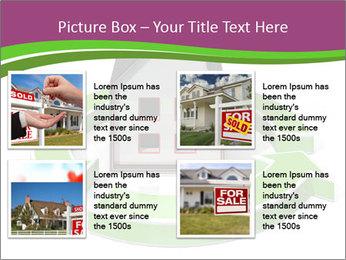 Green House Model PowerPoint Templates - Slide 14