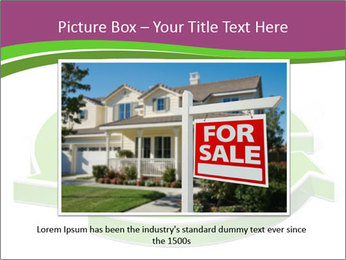 Green House Model PowerPoint Templates - Slide 15