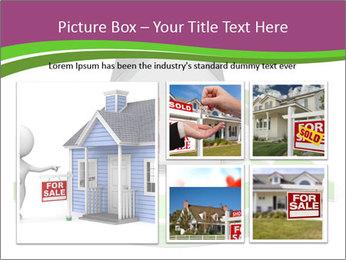 Green House Model PowerPoint Templates - Slide 19