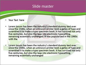 Green House Model PowerPoint Templates - Slide 2