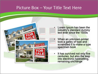 Green House Model PowerPoint Templates - Slide 20